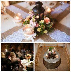 Country Chic Wedding Reception | Oak Glen Apple Farm Wedding - Rustic Wedding Chic