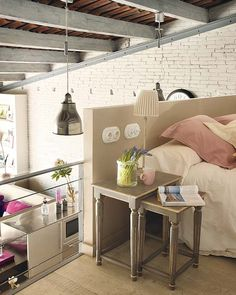 Super idea for a nightstand.  I constantly need additional room at night.