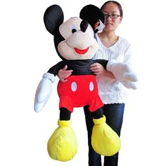 Cheap Stuffed & Plush Animals, Buy Directly from China Suppliers:description:the size is about 100cm, and it is the boy mickey.if you like pink minne,or red minne, or other size, please