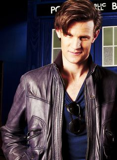 Matt Smith... You're welcome again.