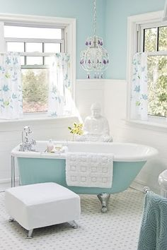 I would like to paint my newly inherited clawfoot tub a lovely pale green.