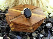 925 Sterling Silver Black Onyx Gemstone Boho Rings