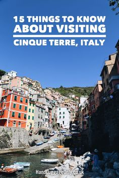 15 Things To Know About Visiting Cinque Terre In Italy - Hand Luggage Only…