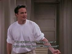 friends quotes & We choose the most beautiful 44 Reasons Why You're Chandler Bing for you. most beautiful quotes ideas Friends Tv Show, Tv: Friends, Friends Moments, Friends Series, Chandler Friends, Friends Quotes Chandler, Quote Friends, Monica And Chandler, Friends Poster