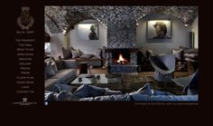Baita 1697 is a beautiful and luxurious ski lodge near Turin, Italy. The spacious living room with a fireplace is amazing! We absolutely love this place! Alpine Chalet, Ski Chalet, Holidays In England, Best Ski Resorts, Winter Beach, Bedroom Retreat, Luxury Accommodation, E Design, Interior Design