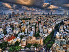 Tel Aviv lookout Photograph  - Tel Aviv lookout Fine Art Print