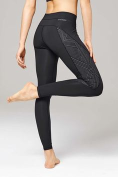 Reflective High Waist Ankle Leggings by Ivy Park