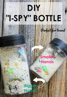 DIY I SPY Bottles