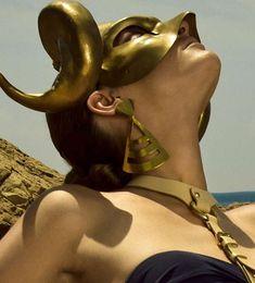 Ancient Headgear Editorials - The Vogue Hellas 'Greek Pride' Photoshoot is Hellenic (GALLERY)