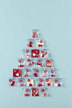 Calendario dell'avvento #caramelle