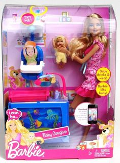 Mattel Barbie I Can Be Baby Sitter Doll Playset