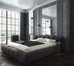 Concept of eclectic interior on Behance