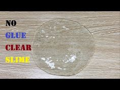 No Glue Clear Slime with Shampoo and Salt, How to make Clear Slime only 2 Ingridients - YouTube