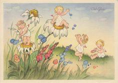 Alenquerensis: Charlotte Baron RAA Postcards - German?