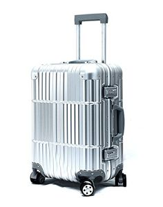 3d92deb6dae0 Cloud 9 All Aluminum Luxury Hard Case CarryOn 20 Durable with 360 Degree 4 Wheel  Spinner. Best Carry On LuggageTravel LuggageHard SuitcasePacking ...