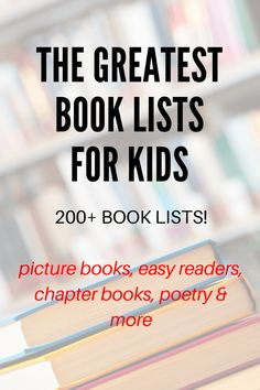 The best book lists for kids. Extensive themes and for all ages. Kindergarten Books, Math Books, Preschool Books, Science Books, Book Activities, Children's Books, Preschool Literacy, Best Children Books, Books For Teens