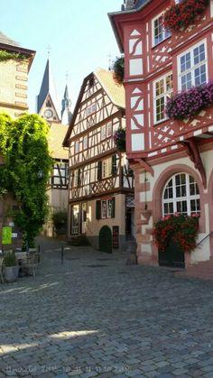 Marktplatz in Heppenheim#Germany