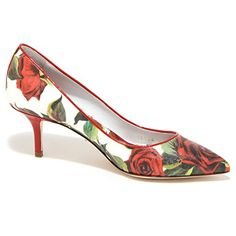 1939O decollete DOLCE&GABBANA bianco/rosso scarpe donna shoes women [38.5] in OFFERTA su www.kellieshop.com Scarpe, borse, accessori, intimo, gioielli e molto altro.. scopri migliaia di articoli firmati con prezzi in SALDO #kellieshop Seguici su Facebook > https://www.facebook.com/pages/Kellie-Shop/332713936876989