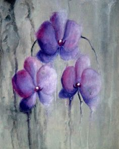 Picturile Roxanei: Ploaie Pastel, Floral, Painting, Art, Art Background, Cake, Florals, Painting Art, Kunst