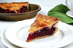 Blackberry Raspberry Lemon Pie