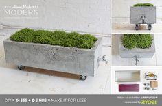 HomeMade Modern DIY EP16 Concrete Planter Postcard