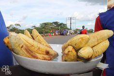Gonja is Plantain; one of the many Banana species in Uganda. Uganda, Sausage, Fries, Roast, Banana, Food, Sausages, Essen, Bananas