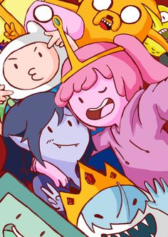 Adventure Time: Selfie Time!! by lucky1717123 on DeviantArt