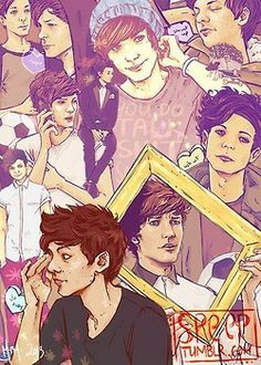 Fan Art of One Direction ♡ for fans of One Direction 35839694 One Direction Fan Art, One Direction Imagines, One Direction Louis, Niall Horan, Zayn Malik, Midnight Memories, Louis Williams, Louis And Harry, 1d And 5sos