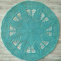 Filet Crochet, Crochet Mat, Crochet Dollies, Crochet Lace Edging, Thread Crochet, Crochet Table Runner Pattern, Free Crochet Doily Patterns, Crochet Placemats, Crochet Circles