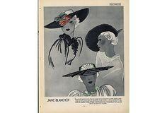 1930s Haute Couture Fashion   Print on OneKingsLane.com