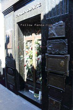 Eva Peron Tombstone - La Recoleta Cemetery - Buenos Aires, Argentina | FollowPanda.COM