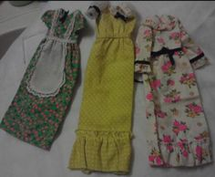 VINTAGE BARBIE, FRANCIE DOLL MOD CLOTHING LOT ~ NICE, FREE SHIPPING (8)