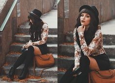 Get this look: More looks by Indiefoxx: lb. Get this look: More looks by Indiefoxx: lb.nu/indiefoxx Items in this look: F Short Women Fashion, Dark Fashion, Gothic Fashion, Boho Fashion, Womens Fashion, Witch Fashion, Fashion Glamour, Edgy Outfits, Cute Outfits