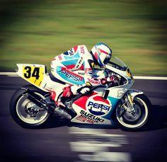 Kevin Schwantz Suzuki RGV500 MotoGP