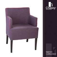Grupo Chapoy - #muebles de #diseño para hoteles, restaurantes, bares. #silla Tub Chair, Accent Chairs, Armchair, Furniture, Home Decor, Stuff Stuff, School Furniture, Bar Tables, Bar Chairs