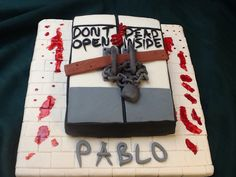 Birthday cake for Pablo Galindo, 10/05/2015