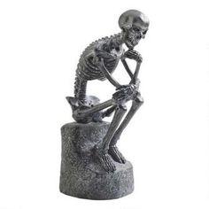 The Skeleton Thinker Statue $29.95