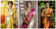 Latest Pattu Sarees, Uppada Pattu Sarees, South Indian Weddings, South Indian Bride, Wedding Sarees Online, Saree Wedding, Latest Maggam Work Blouses, Indian Wedding Wear, Saree Shopping