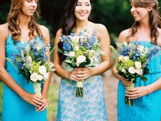 Lilly Pulitzer bridesmaids dresses | JoPhoto | see more on: http://burnettsboards.com/2014/10/lilly-pulitzer-wedding-styles/