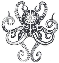 samoan octopus tattoo - Google Search