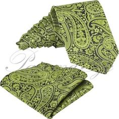 tie and pocket square green - Google Search