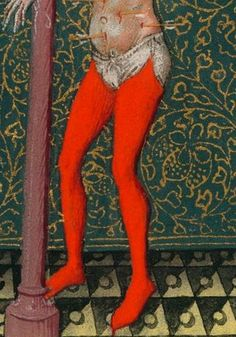 Cathrine of Cleves, St. Sebastian MS pp. Medieval Fashion, Medieval Clothing, Antique Clothing, Medieval Drawings, Medieval Art, Medieval World, 15th Century Clothing, Mens Garb, Renaissance