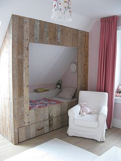 1000 images about zolder kamer on pinterest crochet edgings lief lifestyle and kids pages - Bed kamer ...