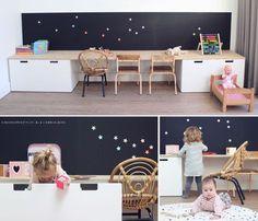 New Bedroom Storage Bed Playrooms Ideas Girl Bedroom Designs, Girls Bedroom, Casa Kids, Ideas Hogar, Toy Rooms, Kids Storage, Kids Corner, Little Girl Rooms, Trendy Bedroom