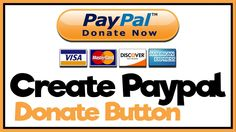 Add a #Paypal donate button to your #Wordpress website.