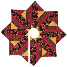 HOLIDAY DRESSING TREE SKIRT QUILT PATTERN- Product Details | Keepsake Quilting