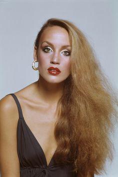 Jerry Hall by Terence Donovan, 1975