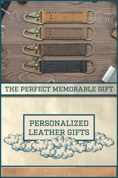 Leather Diy Crafts, Leather Projects, Wood Projects, Craft Projects, Man Gifts, Gifts For Him, Leather Keychain, Leather Wallet, Leather Jewelry