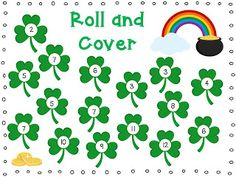 This fun activity to designed to help your students with addition to It is a two person game that is great for use as a Math Center. I hope your class enjoys it! Thanks :) Jess (Collaborative Classroom). St Patrick Day Activities, Spring Activities, Fun Games For Kids, Math For Kids, St Paddys Day, St Patricks Day, Saint Patricks, Preschool Math, Kindergarten Math