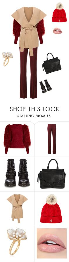 """""""Untitled #3858"""" by ayse-sedetmen ❤ liked on Polyvore featuring Sonia Rykiel, Proenza Schouler, rag & bone, Moncler Grenoble and Ross-Simons"""